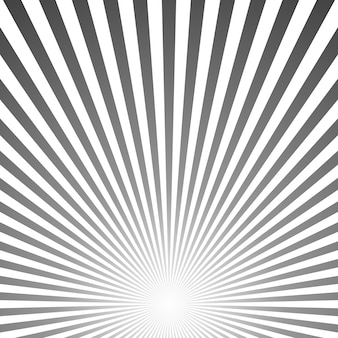 Abstract retro gradient sunburst background design