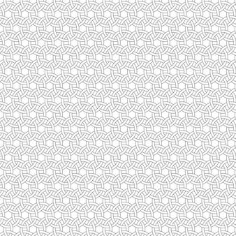 幾何学的図形の抽象的なレトロなシームレスパターン