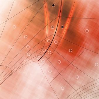 抽象的なレトロな技術、ベクトル技術的背景eps10。