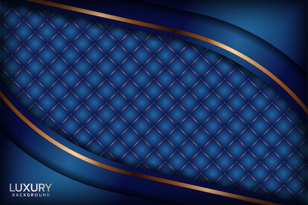 Abstract royal blue background