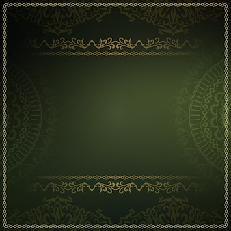 Abstract royal luxury dark green background