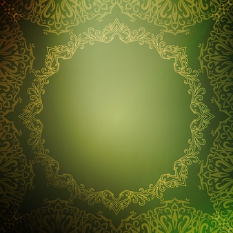 Abstract royal luxury green background