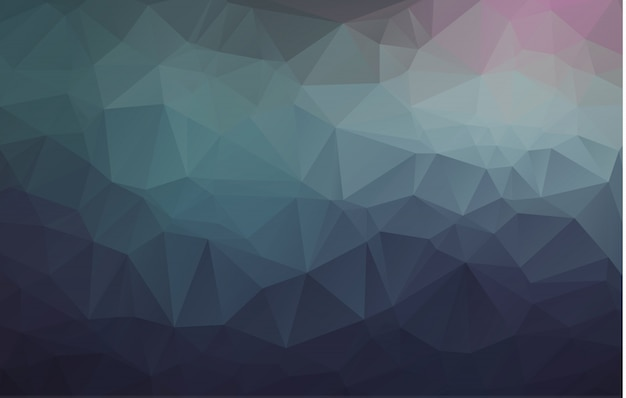 Abstract rumpled triangular background
