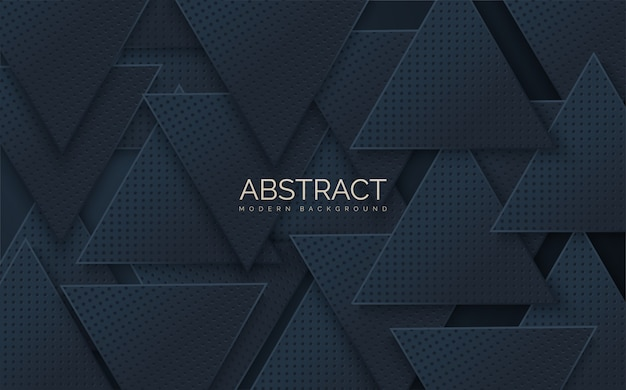 Abstract  s of stacks of black triangular shapes.