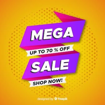 Abstract sale promotion