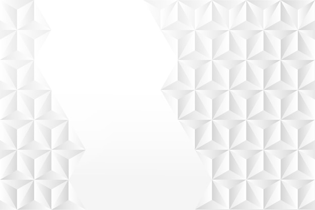 Abstract screensaver in 3d paper style