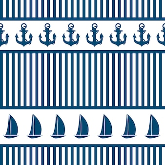 Абстрактный бесшовный фон фон море. векторная иллюстрация