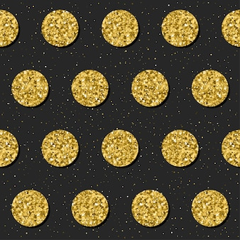 Abstract seamless background. gold glitter texture. pattern for christmas card, xmas invitation, wedding album, scrapbook, holiday wrapping paper, textile, t shirt, bag print, wallpaper etc.