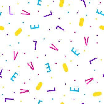 Абстрактный бесшовный фон. современный футуристический образец образца для поздравительной открытки, приглашения на вечеринку, обоев, праздничной упаковочной бумаги, плаката с продажей в магазине, ткани, принта на сумке, футболки, рекламы мастерской