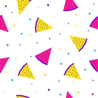 추상 원활한 배경입니다. 생일 카드, 파티 초대장, 벽지, 휴일 포장지, 상점 판매 포스터, 패브릭, 가방 인쇄, 티셔츠, 워크샵 광고를 위한 현대적인 미래 견본 패턴