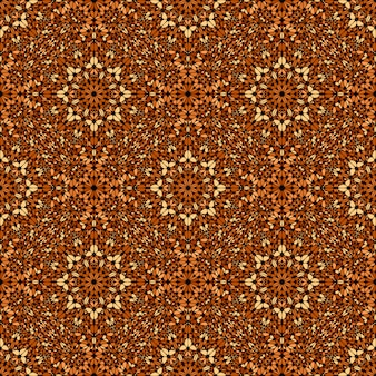 Abstract seamless brown gravel pattern background