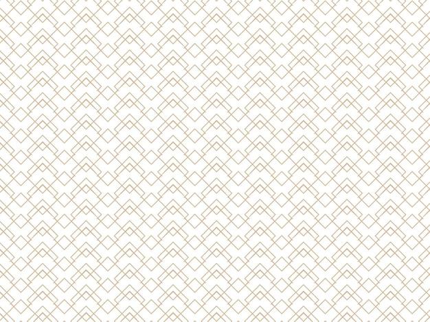 抽象的なシームレスなダイヤモンドの正方形のパターンの背景。