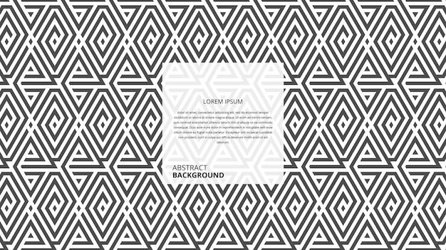 Шаблон линий абстрактные бесшовные геометрические формы
