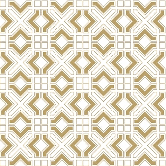 Abstract seamless geometrical pattern in arabian style