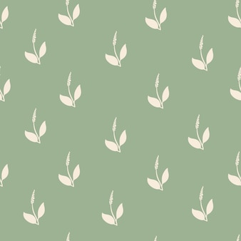 꽃과 잎으로 추상 원활한 최소한의 패턴입니다.