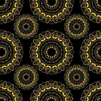抽象的なシームレスなパターンの背景ベクトル図eps10