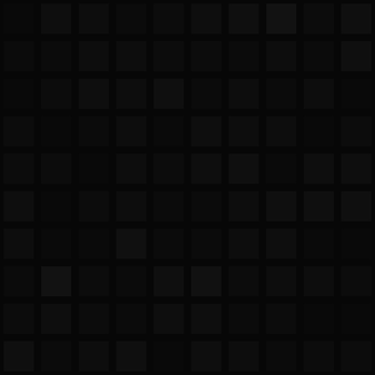 Abstract seamless pattern of big squares or pixels in black colors