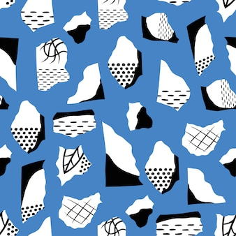 Abstract seamless pattern design