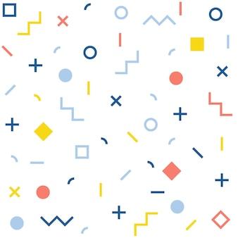 추상 완벽 한 패턴입니다. 디자인 카드, 카페 메뉴, 벽지, 선물 앨범, 휴일 포장지, 아기 기저귀, 가방 프린트, 티셔츠, 워크샵 광고 등을 위한 기하학적 모양