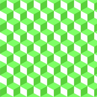 Abstract seamless pattern green grid