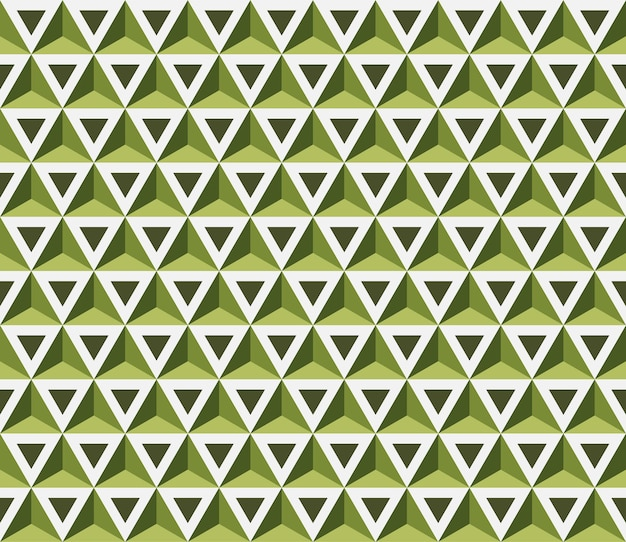 抽象的なシームレスなパターン。三角形とのシームレスなパターン。