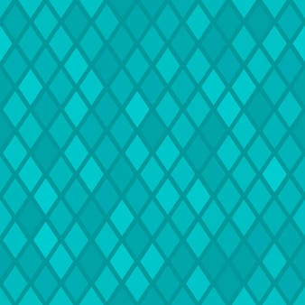 Abstract seamless pattern of small rhombus or pixels in light blue colors