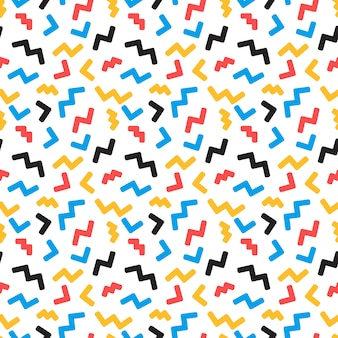 Abstract seamless pattern in trendy  style