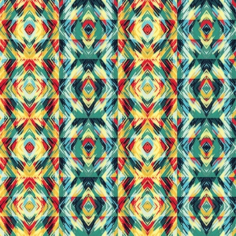 Abstract seamless pattern with geometric elements