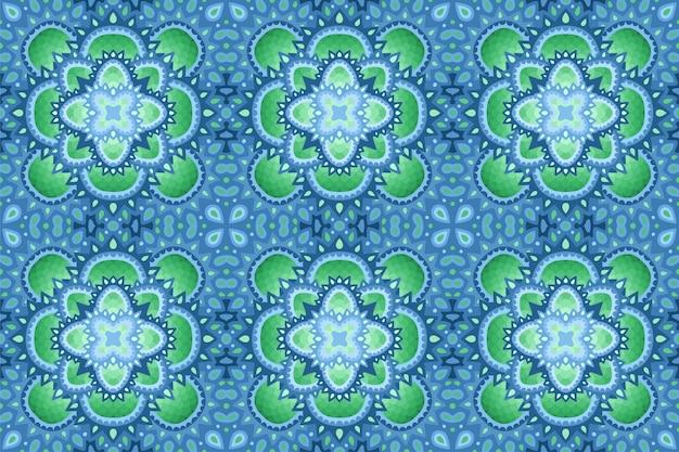 抽象的なシームレスなタイルパターン