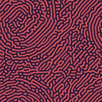 추상 원활한 튜링 패턴 배경입니다.