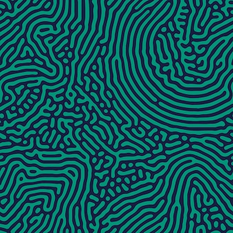 Abstract seamless turing pattern.