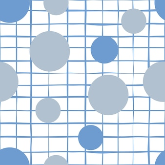 Abstract seamless vector background school line collection. game of go
