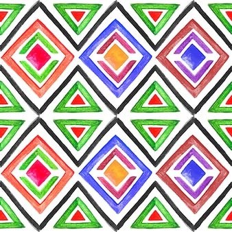 Abstract seamless watercolor pattern 3