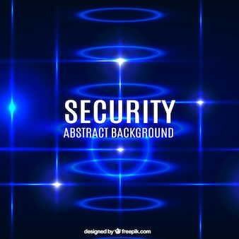 Abstract security background in blue tones