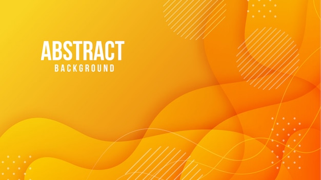 Abstract shape gradient background