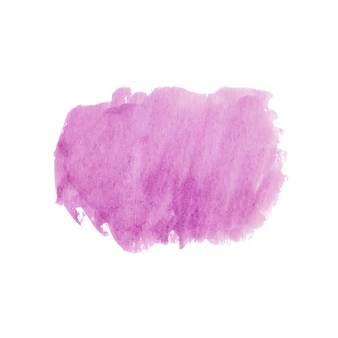 Forma astratta in acquerello rosa