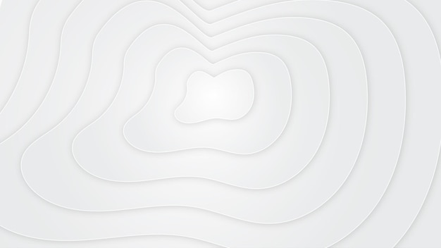 Abstract shape white background