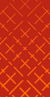 Abstract, shapes burnt orange, scarlet wallpaper background