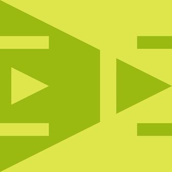 추상, 모양, 연두색, 노란색 녹색 바탕 화면 배경 벡터 일러스트 레이 션