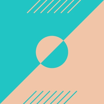 Abstract, shapes , colorful, aqua, peach wallpaper background