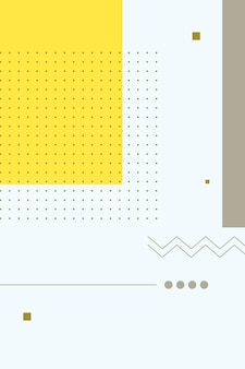 추상, 모양 다채로운, 백랍, 노란색 그라데이션 바탕 화면 배경 벡터 일러스트 레이 션.