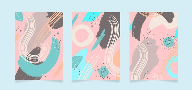 Copertine di forme astratte
