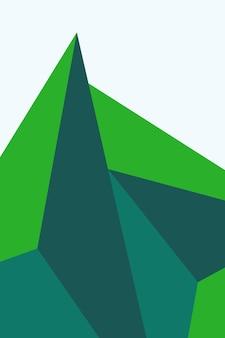 抽象、形フォレストグリーン、ティールグリーン、ライムグリーン、背景壁紙背景ベクトルイラスト。