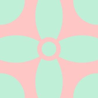 抽象、形、シーフォームグリーン、桃の壁紙背景ベクトルイラスト