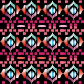 抽象的な形のテキスタイルパターン