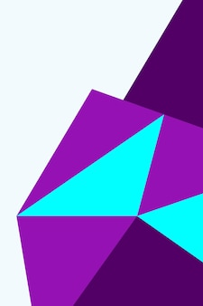 Abstract, shapes violet, indigo, aqua wallpaper background vector illustration .