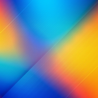 Abstract shiny colorful lines background illustration