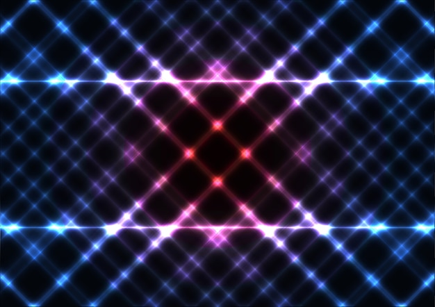 Abstract shiny light effect background