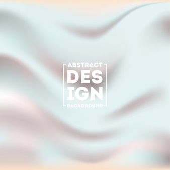 Abstract silky blurred gradient mesh background vector