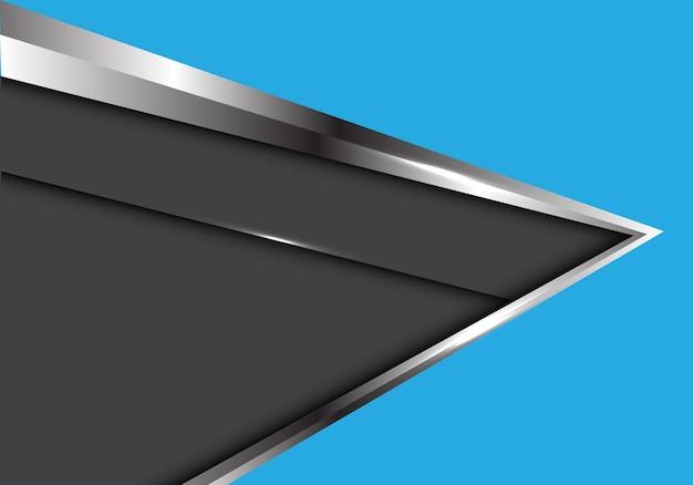 어두운 회색 배경으로 파랑에 추상은 화살표.